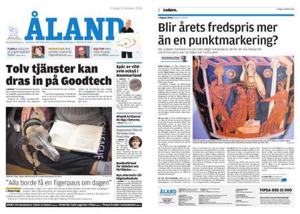 Ålandstidningen – 12 oktober 2018