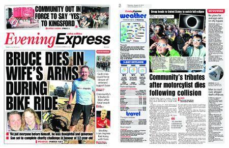 Evening Express – August 22, 2017