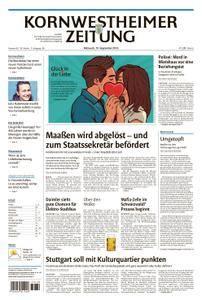 Kornwestheimer Zeitung - 19. September 2018