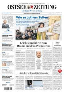 Ostsee Zeitung Wolgast - 01. November 2017
