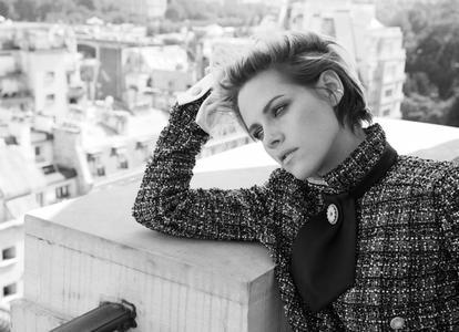 Kristen Stewart by Alexi Lubomirski for Harper's Bazaar UK October 2019
