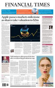 Financial Times USA - August 20, 2020