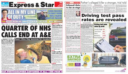 Express and Star Sandwell Edition – April 27, 2019