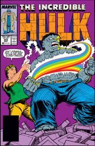 Incredible Hulk 355 1989