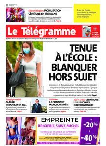 Le Télégramme Brest – 23 septembre 2020