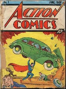 Superman 1 comic 1938.. must to see