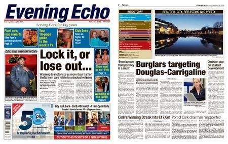 Evening Echo – February 24, 2018