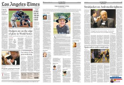 Los Angeles Times – October 26, 2020