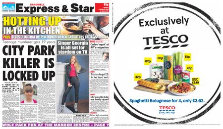 Express and Star Sandwell Edition – February 23, 2019