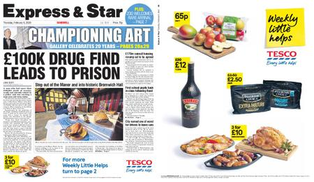 Express and Star Sandwell Edition – February 06, 2020