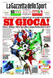 La Gazzetta dello Sport Roma – 29 maggio 2020