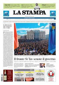 La Stampa Torino Provincia e Canavese - 13 Gennaio 2019