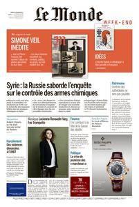 Le Monde du Samedi 18 Novembre 2017