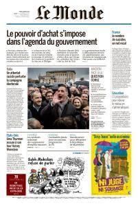Le Monde du Mardi 6 Février 2018