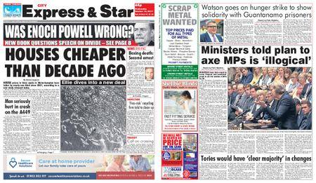 Express and Star City Edition – October 18, 2017