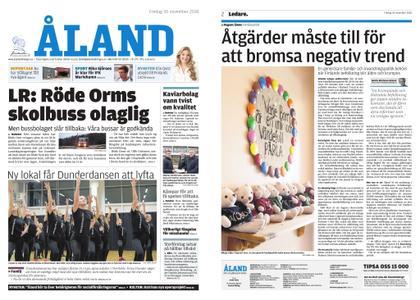 Ålandstidningen – 30 november 2018