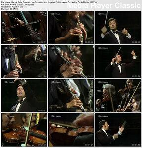 Béla Bartók - Concerto for Orchestra (Sz. 116, BB 123) (Zubin Mehta, Los Angeles Philharmonic Orchestra, 1977)
