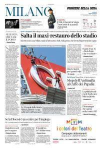 Corriere della Sera Milano - 10 Luglio 2018