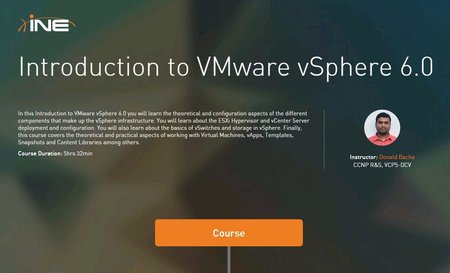 INE - Introduction to VMware vSphere 6.0