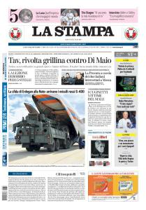 La Stampa Torino Provincia e Canavese - 13 Luglio 2019