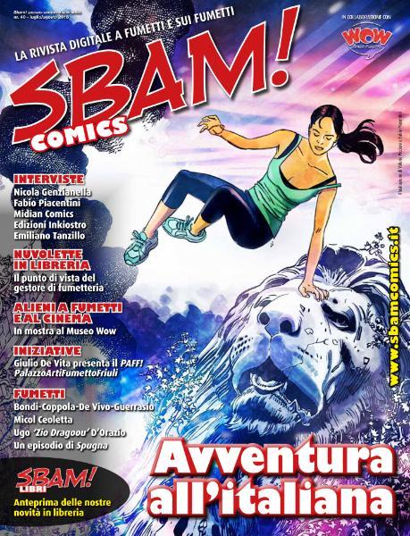 Sbam! Comics N.40 - Luglio-Agosto 2018