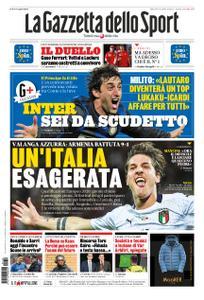 La Gazzetta dello Sport Roma – 19 novembre 2019