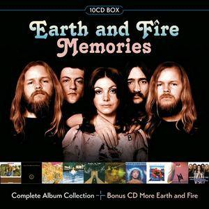 Earth And Fire - Memories (Complete Album Collection) [10CD Box Set] (2017)