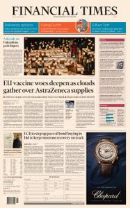 Financial Times Europe - March 12, 2021