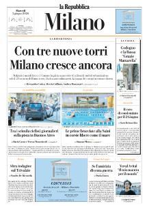 la Repubblica Milano - 2 Giugno 2020