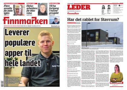 Finnmarken – 30. mars 2020