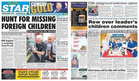 Shropshire Star Shrewsbury Edition – November 21, 2017