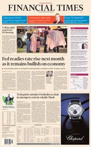 Financial Times Europe – 09 November 2018
