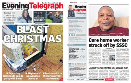 Evening Telegraph First Edition – December 10, 2019