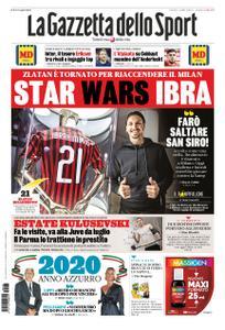 La Gazzetta dello Sport Bergamo – 03 gennaio 2020