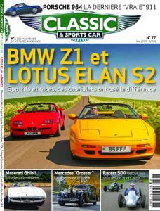 Classic & Sports Car France - juin 2019