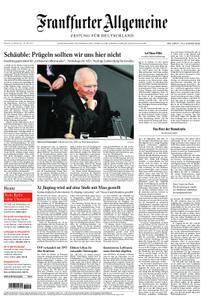 Frankfurter Allgemeine Zeitung F.A.Z. - 25. Oktober 2017