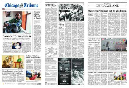 Chicago Tribune – November 25, 2017