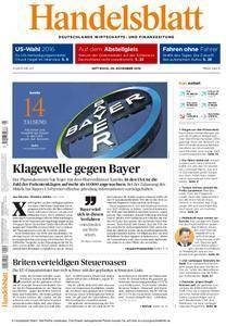 Handelsblatt - 09. November 2016