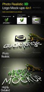 GraphicRiver - Photo Realistic 3D Logo Mock-up V.2 (Repost)