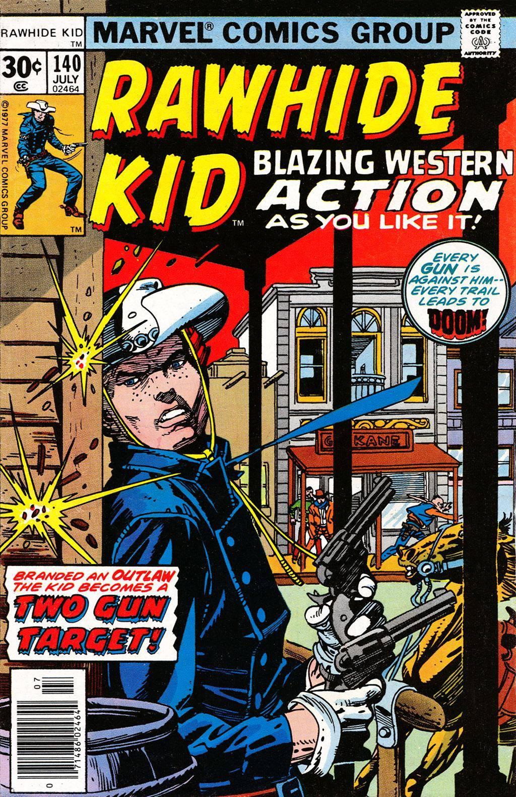 Rawhide Kid v1 140 1977 Brigus