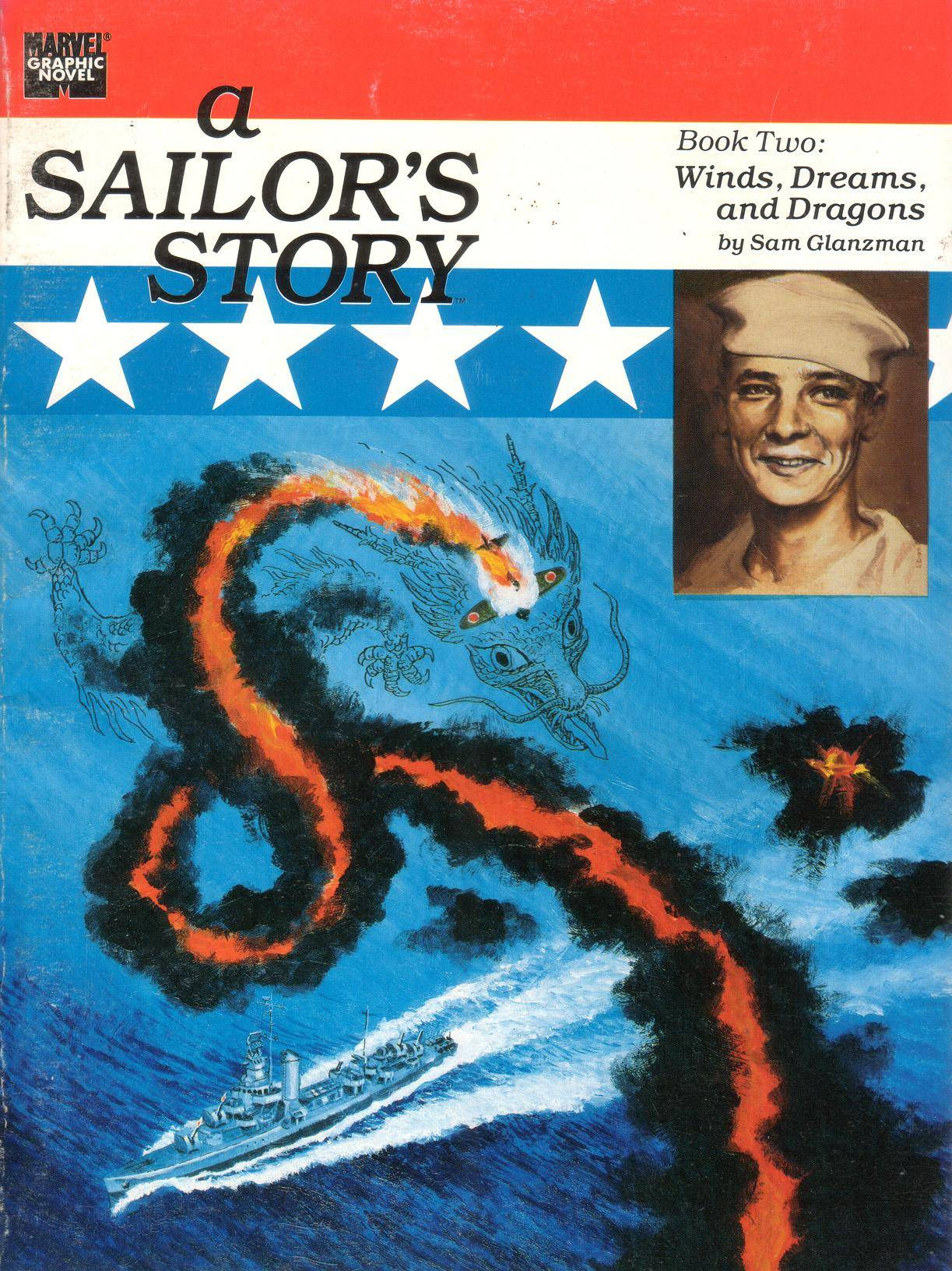 Marvel Graphic Novel 48 - A Sailors Story Book II 1989