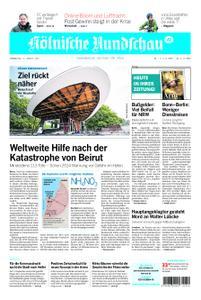 Kölnische Rundschau Wipperfürth/Lindlar – 06. August 2020