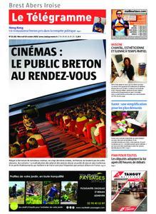 Le Télégramme Brest Abers Iroise – 16 octobre 2019