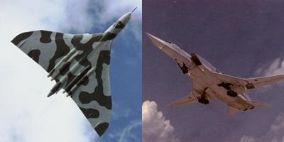 Tu-22M Backfire vs Avro Vulcan