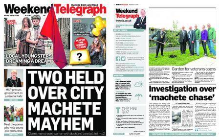 Evening Telegraph First Edition – August 25, 2018