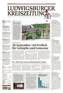 Ludwigsburger Kreiszeitung LKZ - 15 Juli 2021