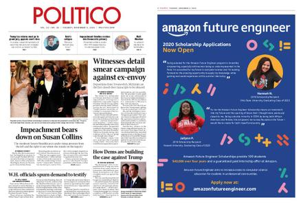 Politico – November 05, 2019