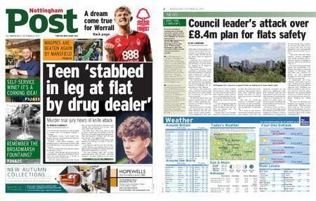 Nottingham Post – October 25, 2017