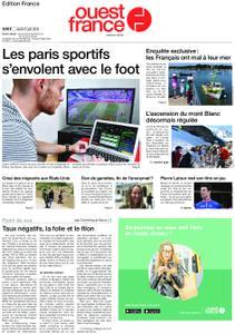 Ouest-France Édition France – 27 juin 2019