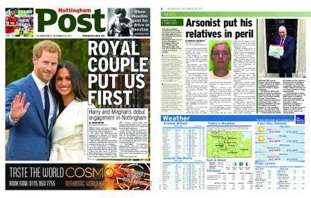 Nottingham Post – November 29, 2017